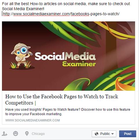 website article posting test