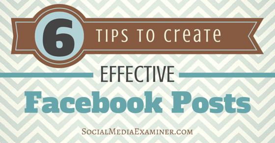 6 Ways to Improve Your Facebook Page Results
