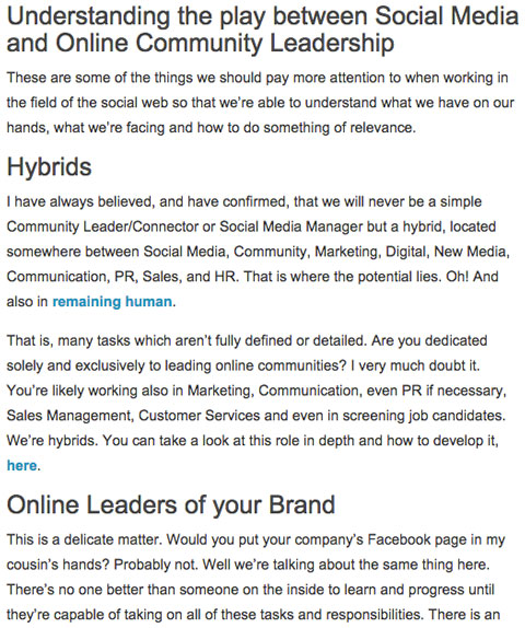 isragarcia blog post section headings