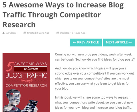 How to write blog articles