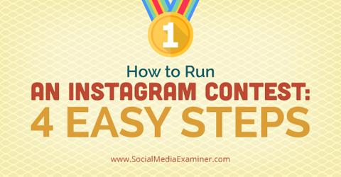 run instagram contest