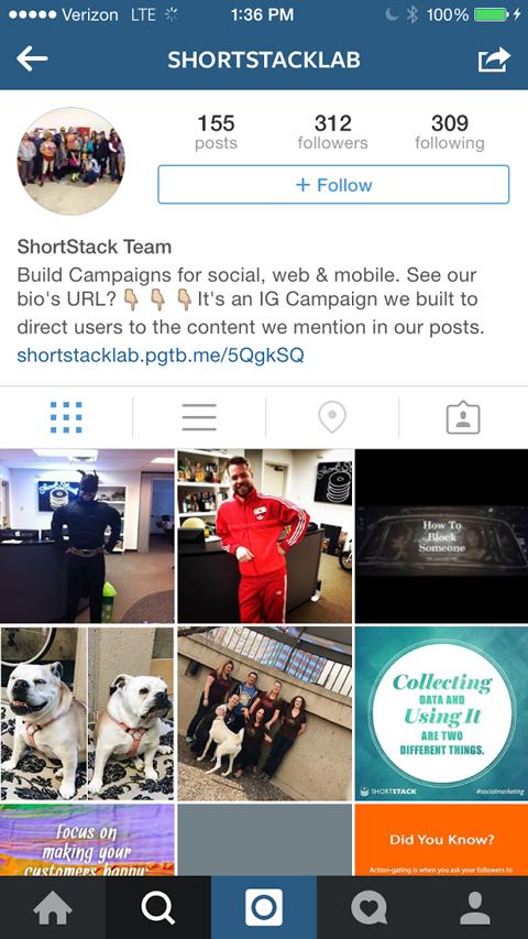 shortstach instagram contest link image