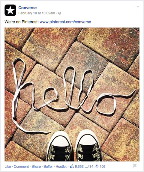 converse facebook image post