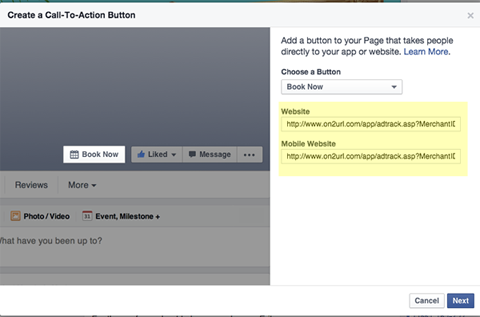 smmw15 facebook call to action button url destinations