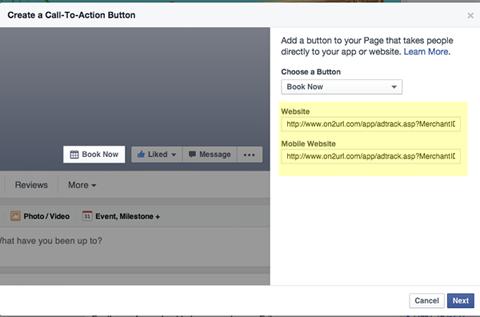 smmw15 facebook call to action button url destinations