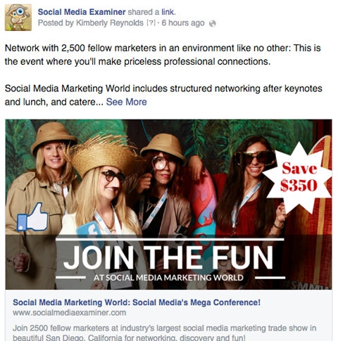 SMMW15 facebook photo booth ad image