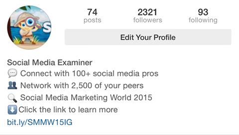 social media examiner bio