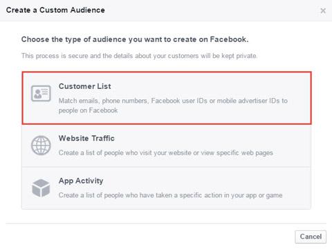 select customer list