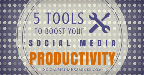 tools for social media productivity