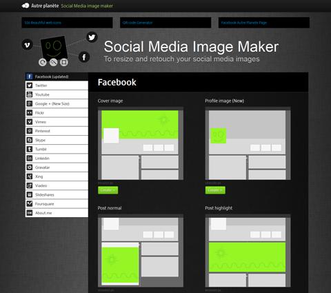 social media image maker app