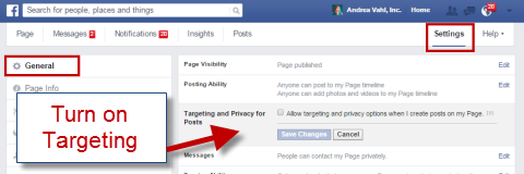 enable targeting
