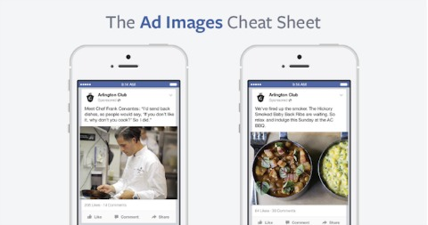 Facebook Creates Ad Images Cheat Sheet