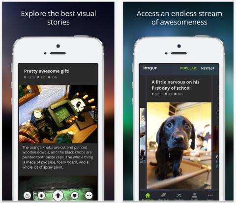 New Imgur iOS App