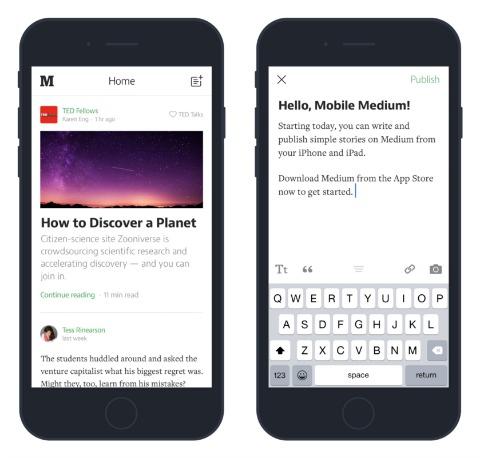 Medium Updates App