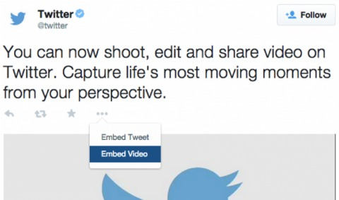 twitter video embeds