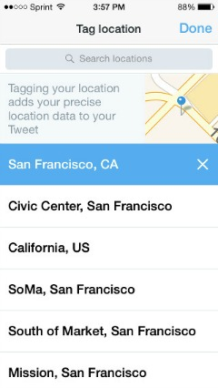 Twitter and Foursquare Partner to Add Location to Tweets