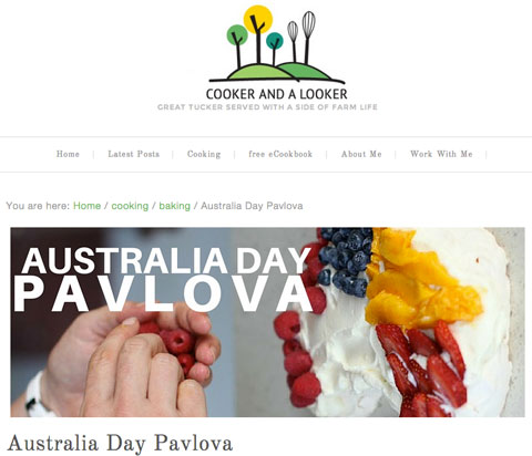 cooker and looker pavlova blog image