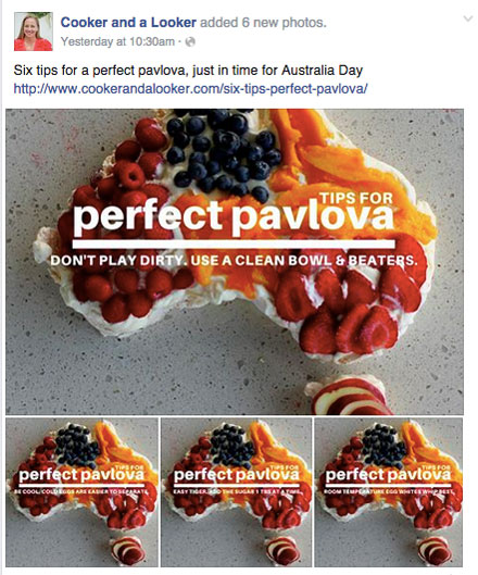 cooker and looker pavlova tip images