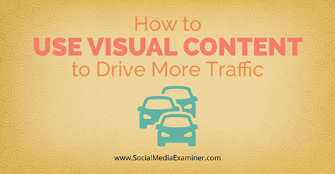 use visual content to drive traffic