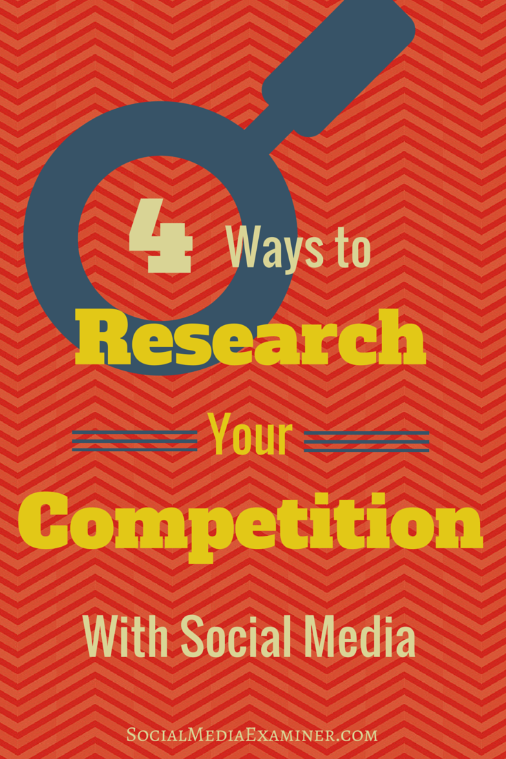 how to research competition on social media