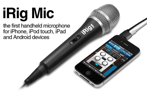 iric mic works with smartphone
