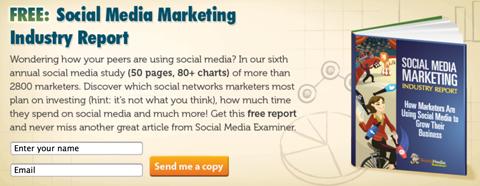 social media examiner lead magnet