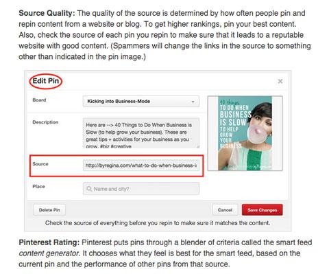social media examiner pinterest smart feed article