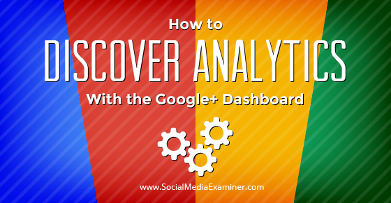 How to Discover Analytics With