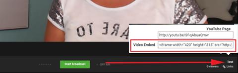 youtube permalink