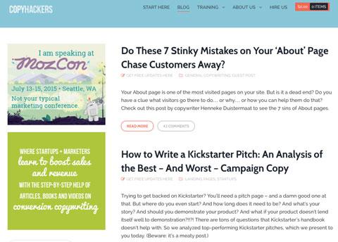 copyhackers website
