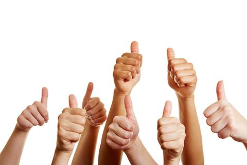thumbs up shutterstock 150754733