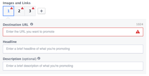create facebook multiproduct ad