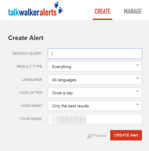 talkwalker app