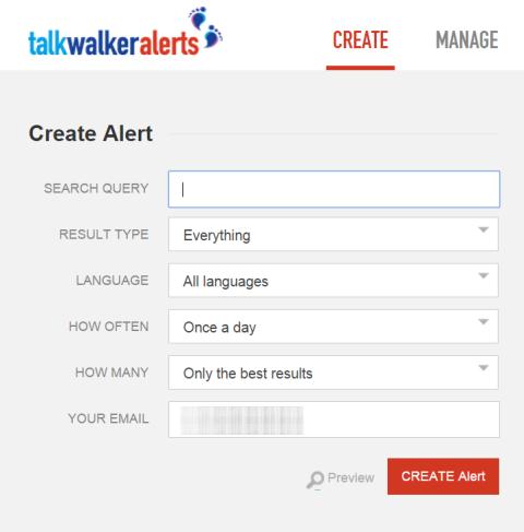 talkwalker app