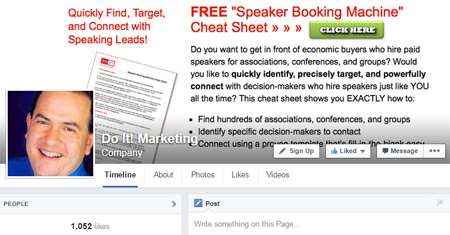 do it marketing facebook cover image
