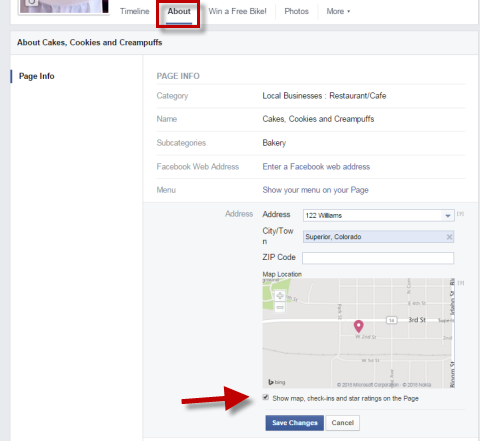 enable facebook reviews