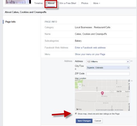 enable facebook reviews