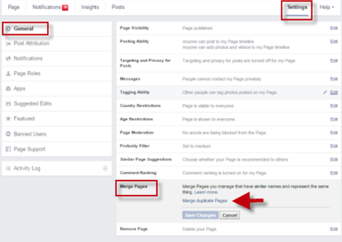 merge pages feature