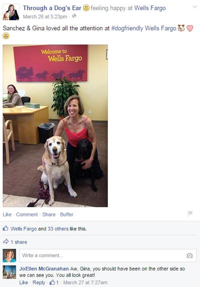 through a dog's ear facebook post