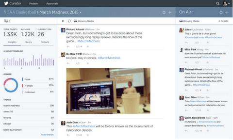Twitter Curator Tool