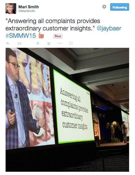 takeaway from jay baer smmw15 presentation