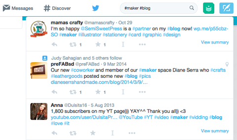 twitter search results for #maker #blog