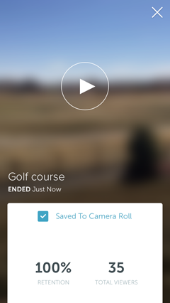 save periscope broadcast option
