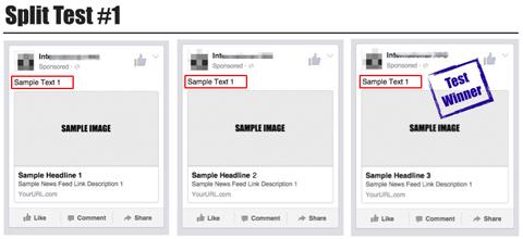 split test examples