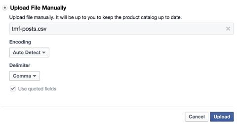 csv file settings