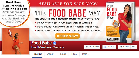 Food Babe Facebook