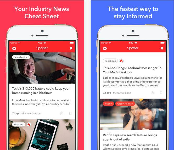 Spotter News App