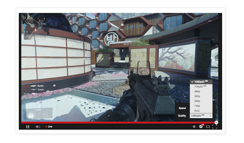 YouTube Brings60FPS and HTML5 Playback to Live Streams