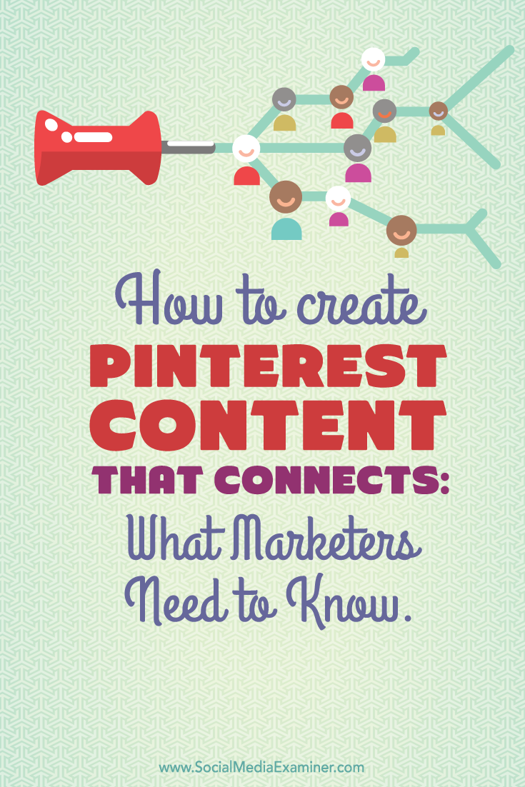 create pinterest content that connects