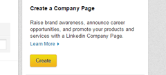 how to create new company page in linkedin